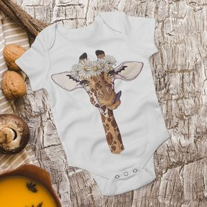 Giraffe Bodysuit - Animal Print
